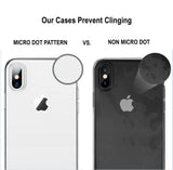 iPhone X/XS Silicone Clear Phone Case - Whiztek Ltd