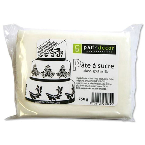PATE A SUCRE BLANCHE 250G