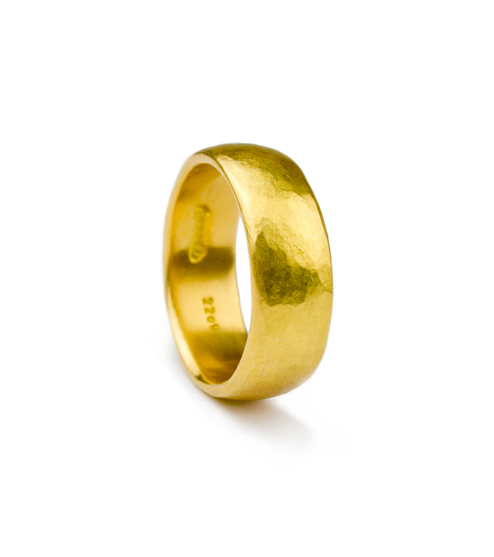 Best Ring - Recycled 22ct Solid Yellow Gold 7mm