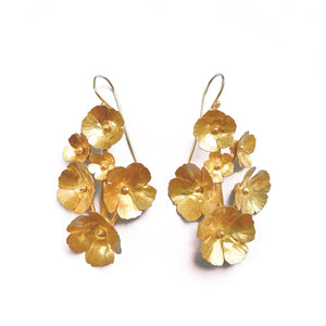 Fiorellini Earrings -6- Golden