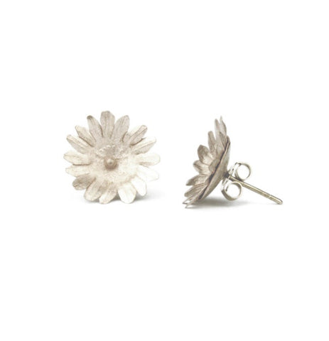 Fiori Stud Earrings - Silver or Golden