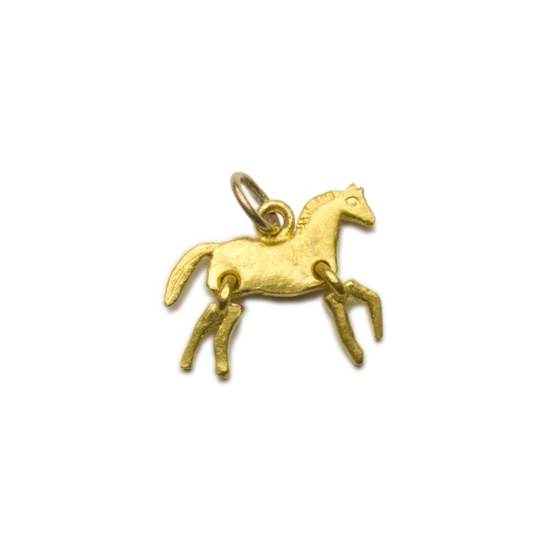 Tiny Horse – Solid 22k Gold