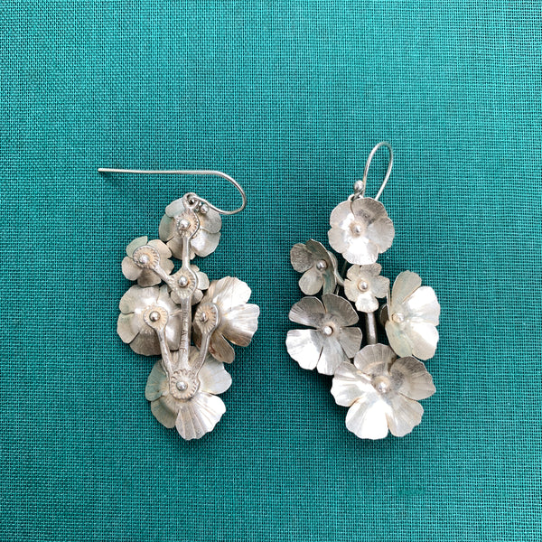 Fiorellini Earrings -6- Silver