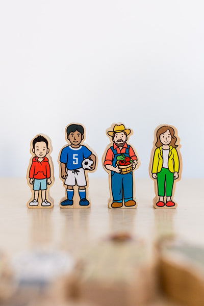 The Wooden Village People by Peekasense - Malaysia