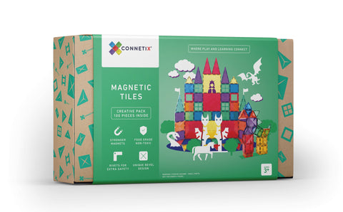 Connetix Tiles Creative Pack - 100 piece by Peekasense - Malaysia