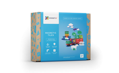 Connetix Tiles Motion Pack (Car) - 24 piece by Peekasense - Malaysia
