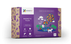 Connetix Tiles Starter Pack - 62 piece by Peekasense - Malaysia