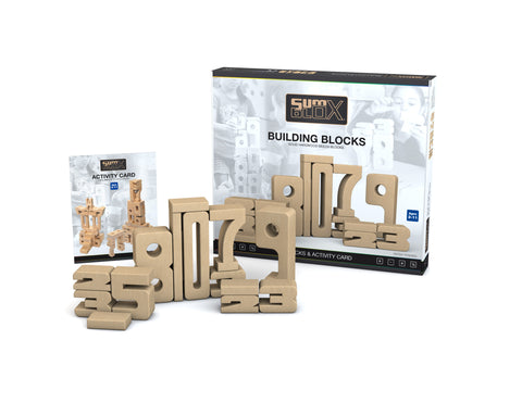 SumBlox Building Blocks Basic Set 43 Pieces by Peekasense - Malaysia