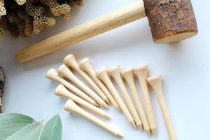 Set 10 Wooden Nails by Peekasense - Malaysia