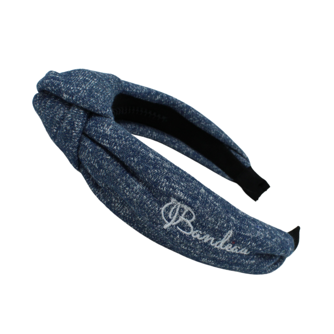 French Terry Speckled Knot Headband