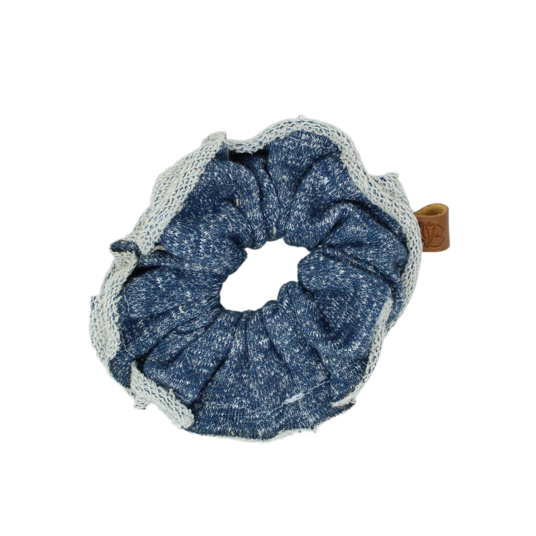 Raw Edge French Terry Speckle Scrunchie