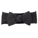 Ribbed Puffed Bow Baby Band