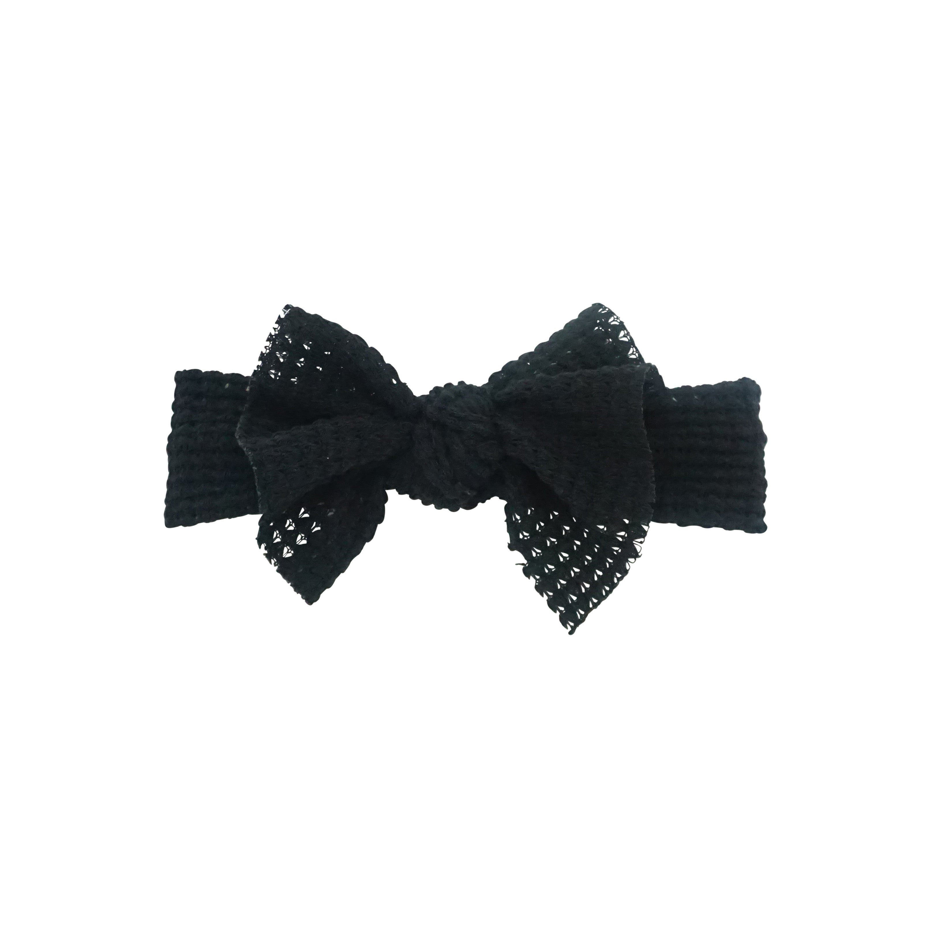 Chunky Woven Floppy Bow Baby Band