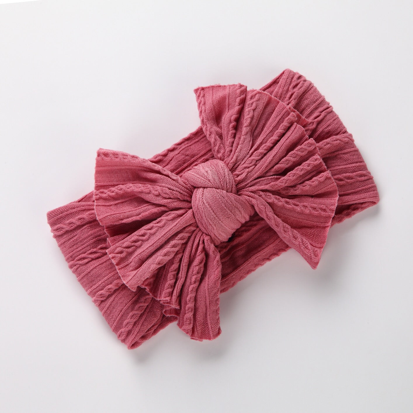 Floppy Sweater Bow Baby Band