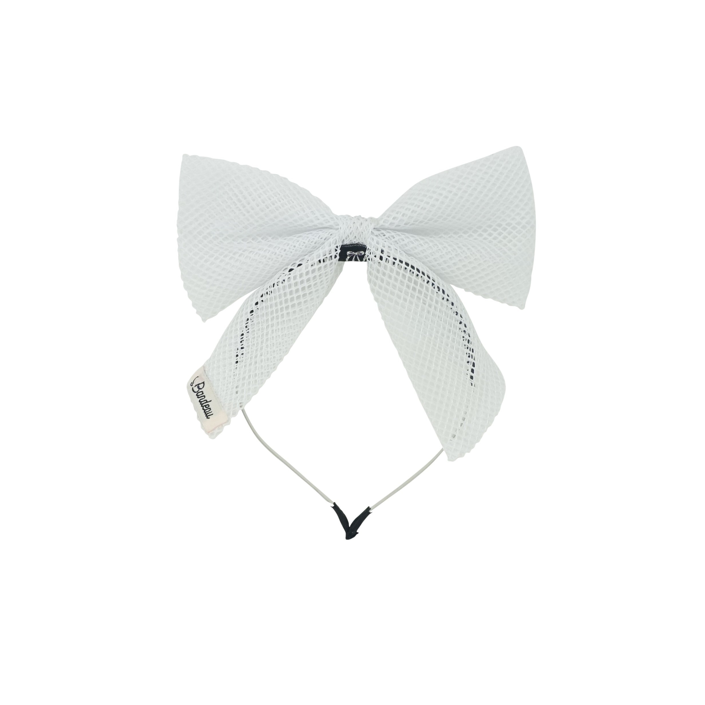 Netting Bow Headband