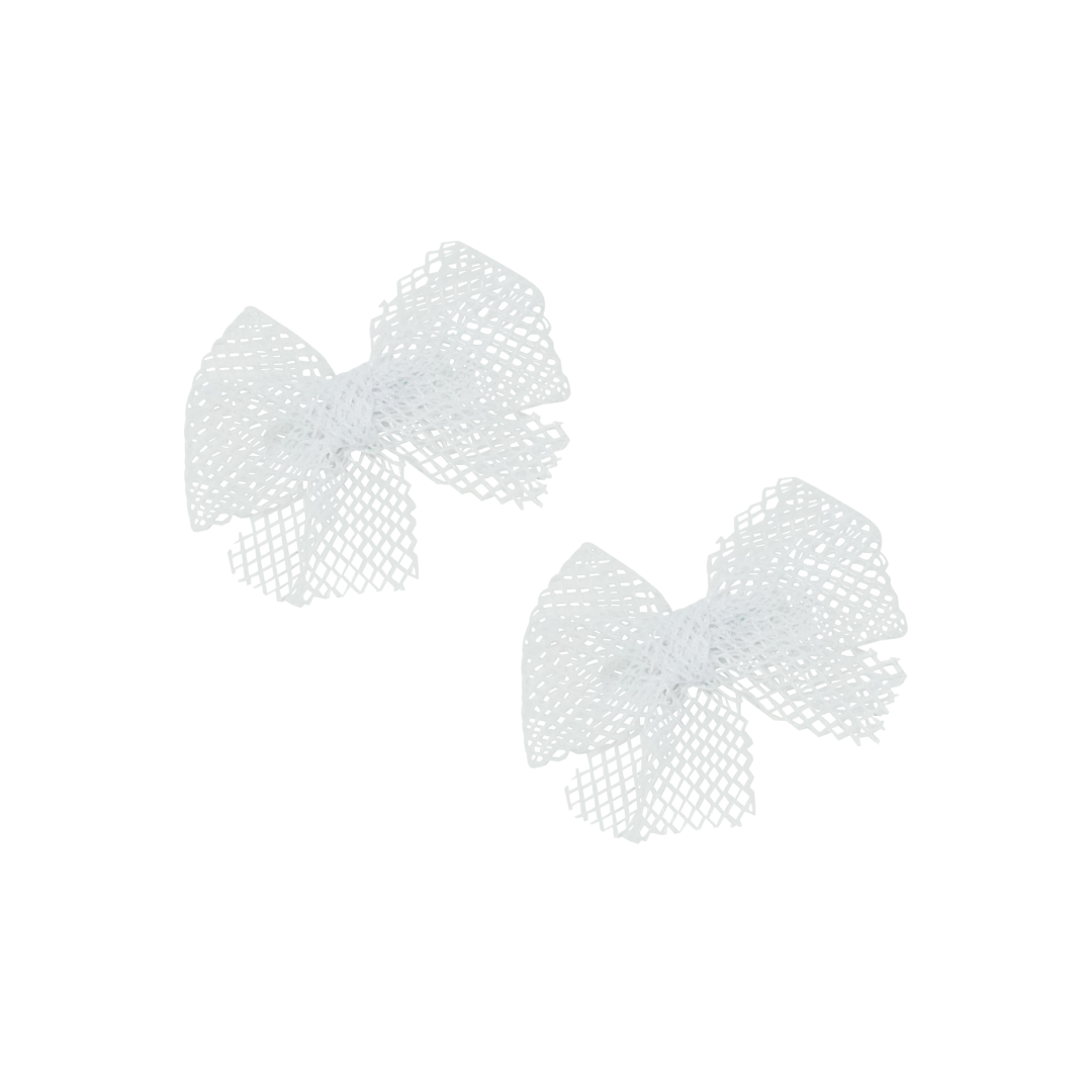 Netting Bow Mini Clip Set