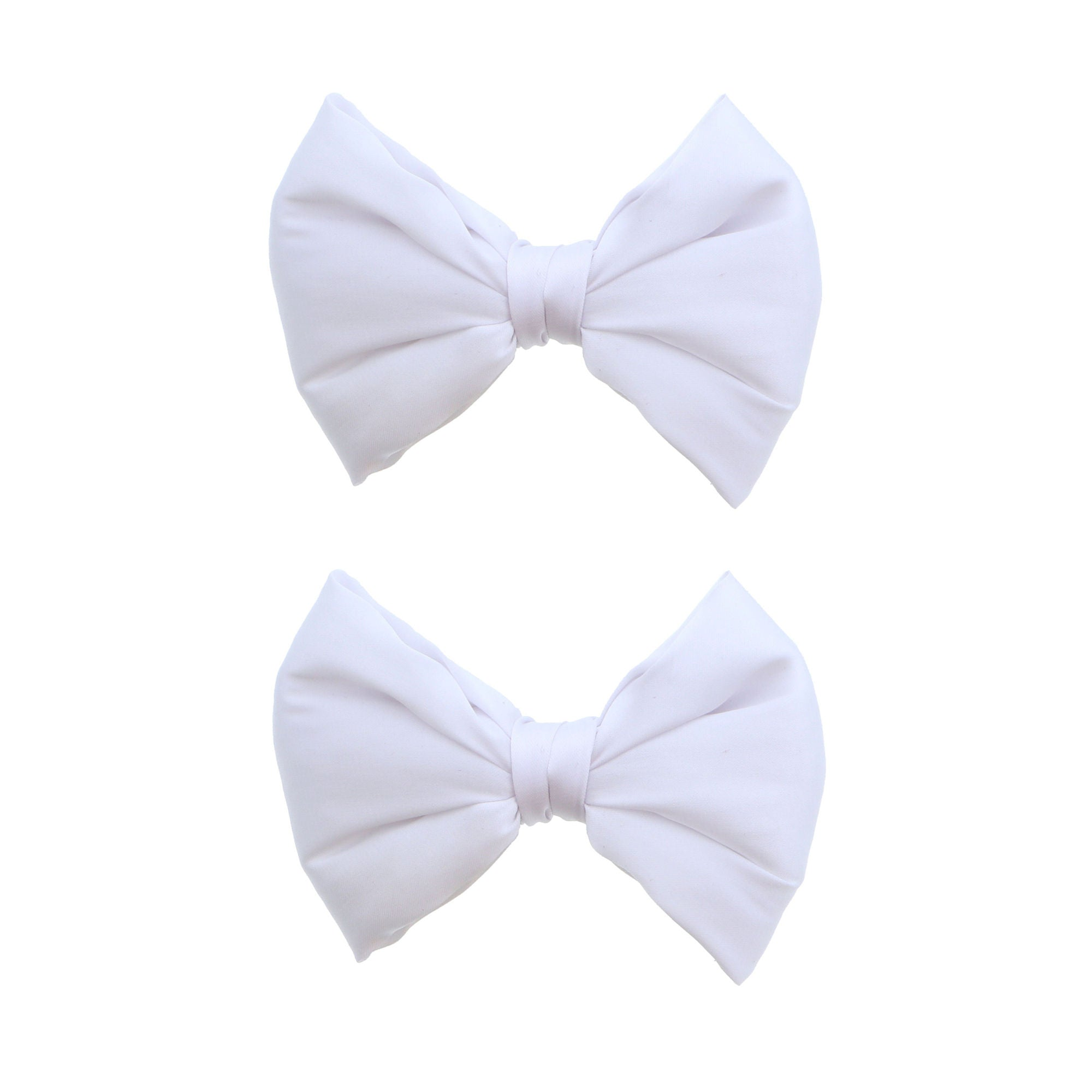 Silk Bow Mini Clips