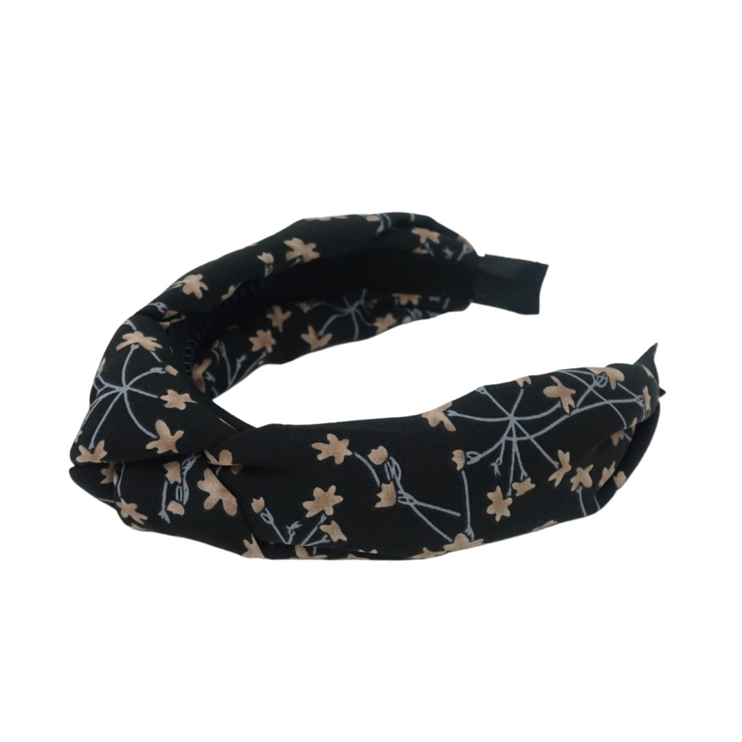 Summer Floral Knot Headband