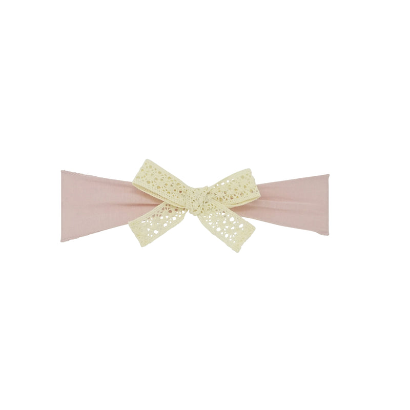 Vintage Lace Bow Baby Band