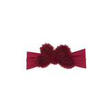 Fur Wired Bow Baby Band