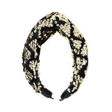 Velvet Sequin Twist Headband