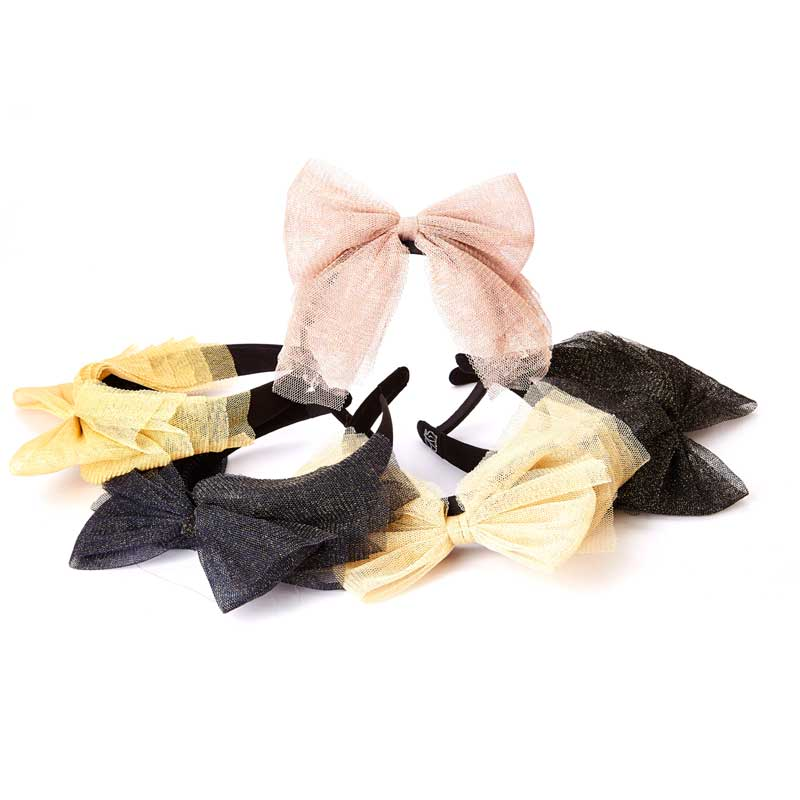 Sale! Sparkle Layered Bow Headband