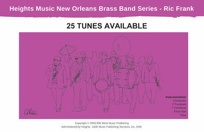 New Orleans 2nd Line Brass Band Scores