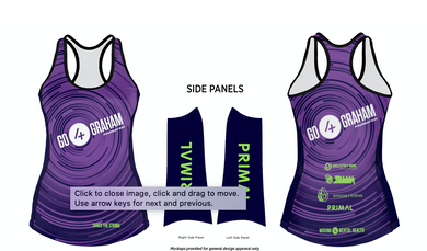 Go4Graham Women's Running Tank '19