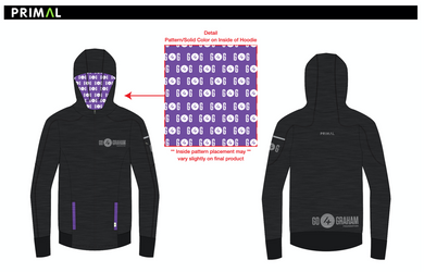 Go4Graham Men's/Women's Rhapsodie Hoodie