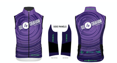 2018 Go4Graham Men's Wind Vest, Race Cut
