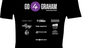 Go4Graham 2020 Men's Short Sleeve Tri-Blend Cotton T-Shirt