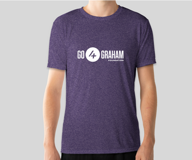 Go4Graham Purple Heather Sport T-Shirt