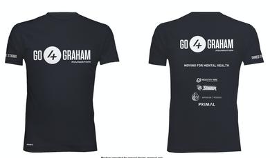 Short Sleeve Go4Graham T-Shirt (Black)
