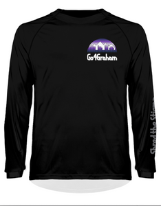 Go4Graham Women's Ilex Purple Sunset Long Sleeve MTB Jersey