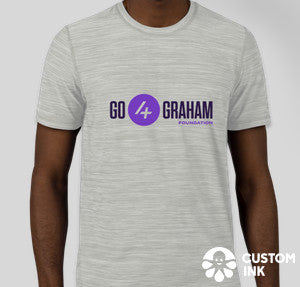Go4Graham Adidas Tech Tee (Heather Grey) Unisex.