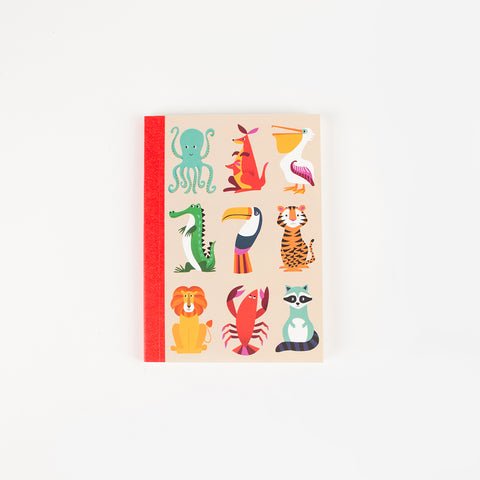Notebook - Colourful creatures