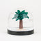 1 snow globe - Palm tree