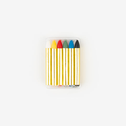 6 make-up pencils - assorted colors