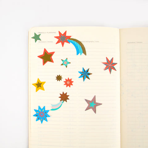 Star stickers - Multicolour