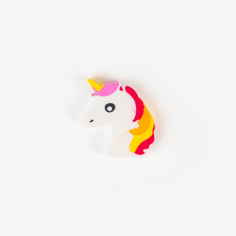 1 eraser - Unicorn