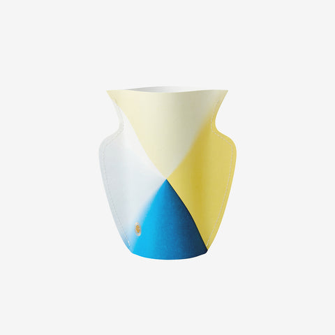 Small paper vase Laguna - triangle