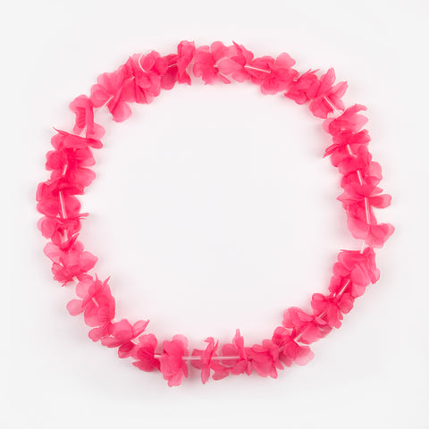 Hawaiian flower necklace - Pink