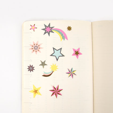 Star stickers - Pastel