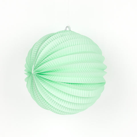 Peacock circle lantern - Light Green