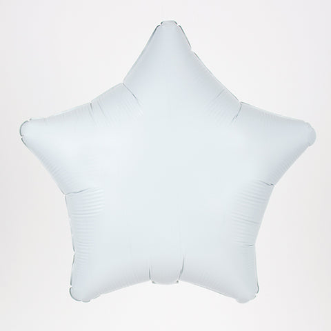 Foil balloon - White star