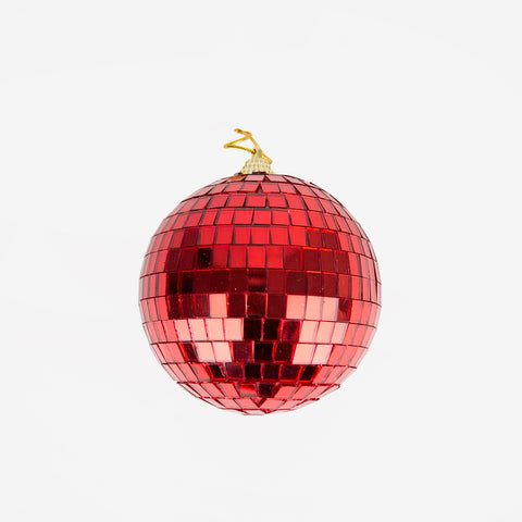 Small disco ball - Red