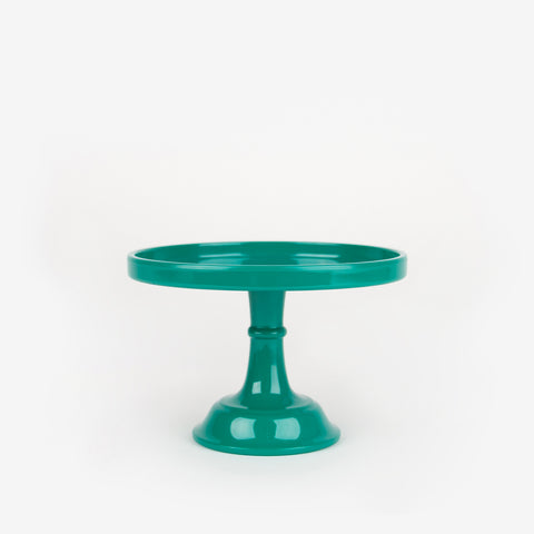 Cake stand - Emerald green