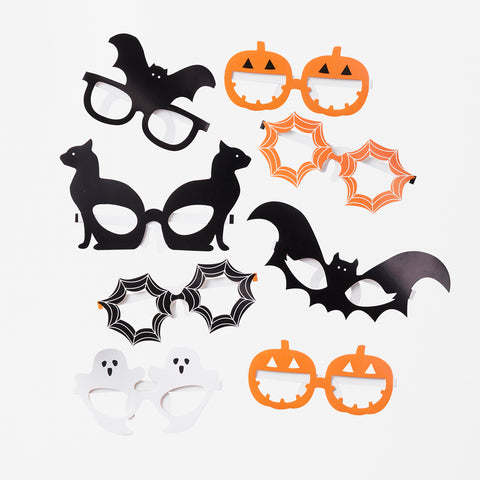 Halloween photobooth kit - Pumpkin party
