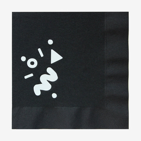 20 napkins - Art school