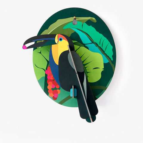 3D wall decoration - toucan